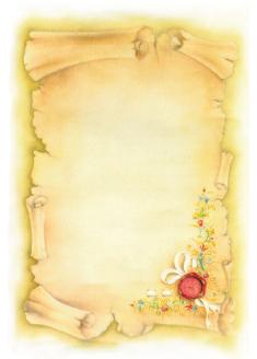 Pergamena 42 30 st colori for Immagine pergamena da colorare